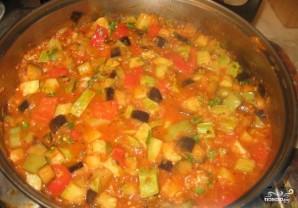 Овощное рагу с брокколи - фото шаг 9