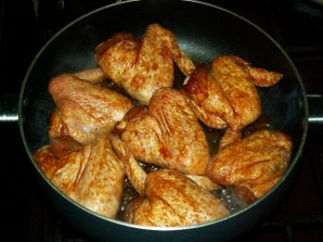 Крылья на сковороде - фото шаг 5