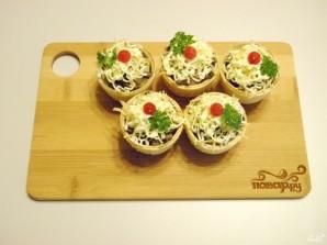 Тарталетки с грибами - фото шаг 7