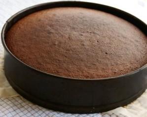 Шоколадно-творожный торт - фото шаг 6
