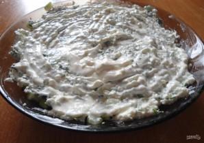 Салат с копченой курицей - фото шаг 8