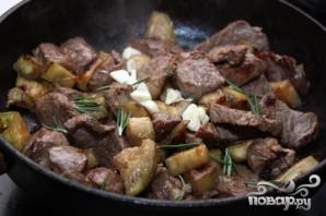 Мясо с баклажанами - фото шаг 5