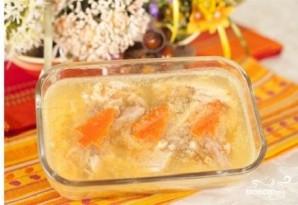 Холодец из куриной грудки с желатином - фото шаг 5