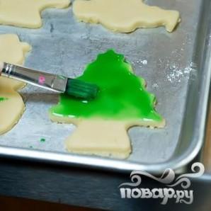 Печенье с глазурью (новогоднее) - фото шаг 5