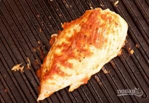 Курица на гриле с овощами и соусом барбекю - фото шаг 6