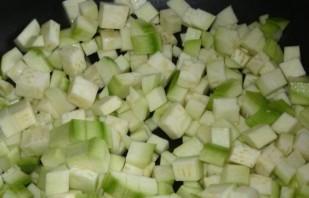 Рагу из кабачков с рисом - фото шаг 1