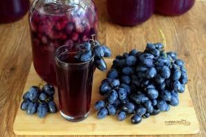 Виноград в банке - фото шаг 3