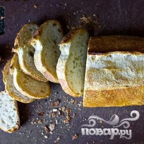 Тосты с голубым сыром и луком - фото шаг 2