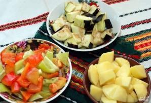 Овощи в горшочке - фото шаг 2