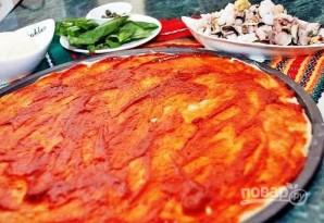 Пицца из морепродуктов - фото шаг 6