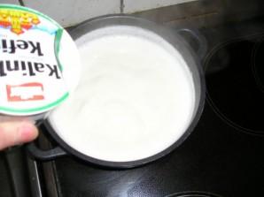 Сыр из молока в домашних условиях - фото шаг 2