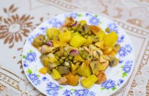 Салат с курицей и картофелем - фото шаг 9