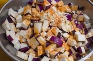 Салат из запеченных баклажанов - фото шаг 4
