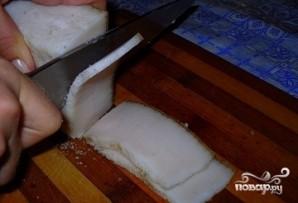 Картофель с беконом в фольге - фото шаг 4