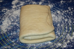 Тесто на круассаны - фото шаг 7