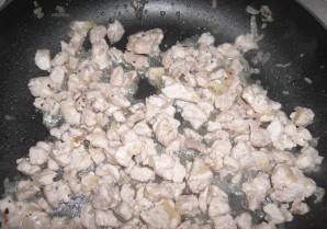 Макароны со свининой в духовке - фото шаг 5