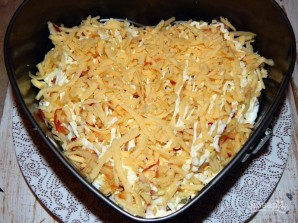 Салат с киви и ветчиной - фото шаг 7