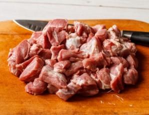 Капустная солянка с мясом - фото шаг 2