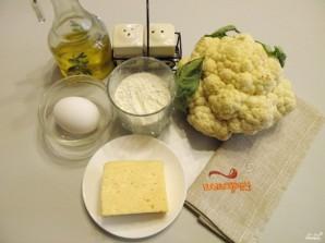 Цветная капуста в кляре с сыром - фото шаг 1