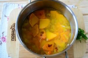 Тыквенный суп с сыром - фото шаг 5