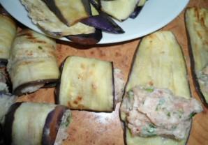 Рулеты из баклажанов с мясом - фото шаг 6