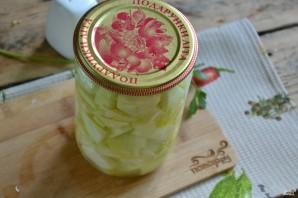 Кабачки в чесночном соусе на зиму - фото шаг 9