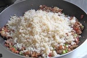Жареный рис со свининой - фото шаг 8