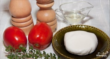Салат из жареных помидоров - фото шаг 1