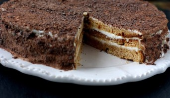 Торт на сметане - фото шаг 11
