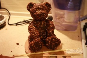 Торт с мишками Тедди - фото шаг 4
