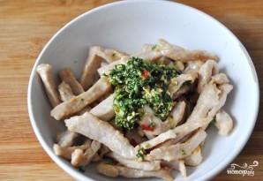 Салат из пекинской капустки с мясом - фото шаг 3
