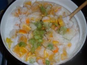 Варенье из ревеня с апельсином - фото шаг 3