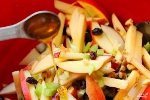 Салат из свежих яблок - фото шаг 7