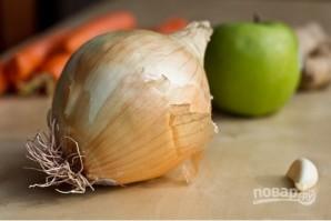 Суп-пюре с яблоками и морковью - фото шаг 1