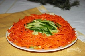 Салат из шпротов - фото шаг 7