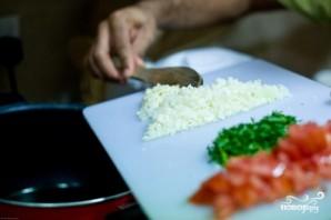 Паста с помидорами и креветками - фото шаг 1