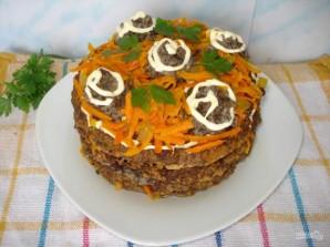 Простой рецепт печеночного торта - фото шаг 8