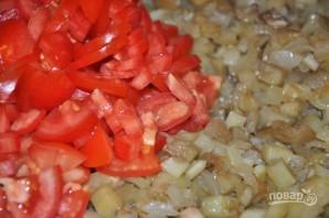 Салат на зиму с баклажанами и помидорами - фото шаг 5