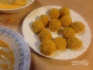 Крокеты из шпината с сыром - фото шаг 12
