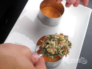 Закуска из краба и копченого лосося - фото шаг 6