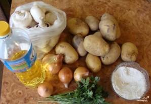 Шампиньоны с картошкой - фото шаг 1