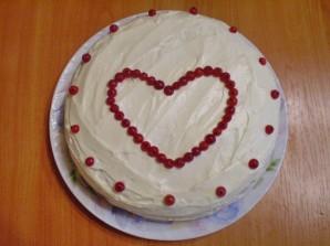 Торт на день рождения мамы - фото шаг 14