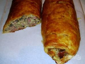 Мясной пирог в духовке - фото шаг 9