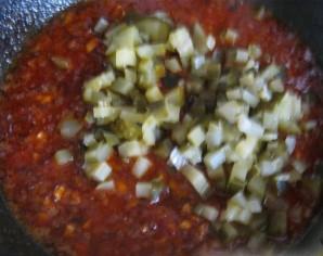 Cолянка по-домашнему с колбасой - фото шаг 6