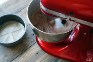 Шоколадный торт с голубикой - фото шаг 4