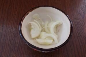 Салат из печени трески постный - фото шаг 1