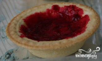 Холодные пирожные из вишни в тарталетках - фото шаг 1