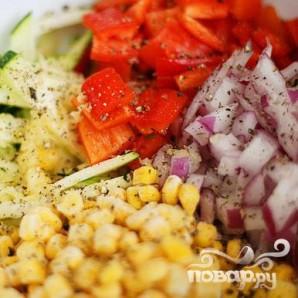 Летние жареные овощи - фото шаг 3