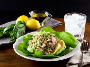Быстрый салат с тунцом - фото шаг 3
