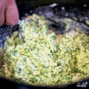 Кабачковые оладьи с козьим сыром - фото шаг 14